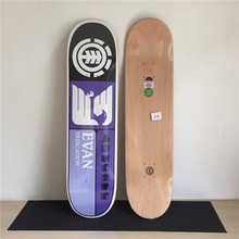 Skateboard Decks Canadian Maple Element Deck Skateboard Skate Deck Purple Pattern Shape Skate Patins Street 10Types Available