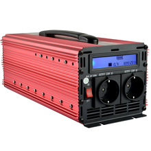 EnRise 3000W/6000W Power Inverter DC 12V to 220V AC with LCD Display