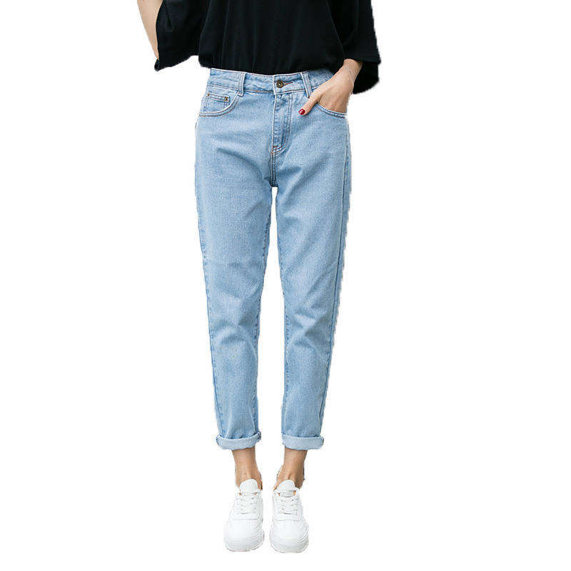 Women High Waist Denim Jeans Vintage Slim Mom Style Pencil Jeans High Quality Denim Pants Plus Size 32 For 4 SeasonОдежда и ак�е��уары<br><br><br>Aliexpress