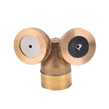 New 1pc Brass Agricultural Misting Spray Nozzle Garden Sprinkler Irrigation System 1/2/3/4 Nozzles