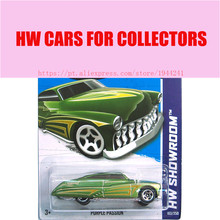 2013 Hot 1:64 Cars wheels purple passion Models Metal Diecast Cars Collection Kids Toys Vehicle For Children Juguetes 40