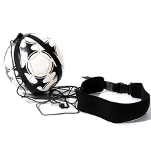 Hot Sell Top quality Sports Assistance Adjustable Football Trainer Soccer Ball Practice Belt Training Equipment Kick(China)