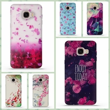 Soft Silicone 3D Flower TPU Cases For Samsung Galaxy C5 C5000 Back Cover For Samsung Galaxy C5 C5000 Phone Case Skin