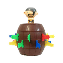 Classic Toy Game Pirate Bucket for Kids and Adults Lucky Stab Pop Up Toys Intellect Game For Kids(China)