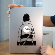 Sasuke Back Naruto Laptop Sticker for Apple iPad Decal Air / 1 /2 / 3 / 4 / Mini Surface Book Tablet PC Skin Notebook Sticker