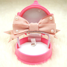 Cute small Dog cat pet princess pearl Hairpin hair bows Dog puppy hair Clips Grooming headwear Hat dog wedding hair accessory