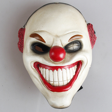 Free shipping Harvest Day game system class movie theme mask dance party decoration wedding props grade resin mask Red Nose