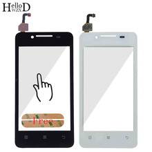 Buy 4 inch 100% Tested Lens Sensor Touchscreen Lenovo A319 A319i 319 Touch Screen Digitizer Panel Front Glass Free Adhesive for $3.99 in AliExpress store