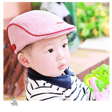 New Baby Hats For Boys Stripes Boys Summer Hat Cool Baby Cap Cute Boy Beret Infant  Baby Boy Caps