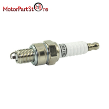 Spark Plug for 50cc 70cc 90cc 110cc 125cc 150cc Moped ATC110 4 Stroke Engines ATV Dirt Bike A7TC Motorcycle Part