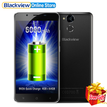 Blackview P2 4G Mobile Phone 5.5 inch FHD MTK6750T Octa Core Android 6.0 4GB RAM 64GB ROM 13MP 6000mAh Battery Fingerprint ID