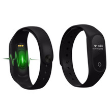 New Sport Bracelet Real Time Heart Rate Monitor Bluetooth 4.0 Vibration Pedometer  Fitness Tracker for ios Android