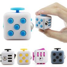 Buy Mini Fidget Cube Toy Vinyl Desk Finger Toys Squeeze Fun Stress Reliever 2.2*2.2*2.2cm High Antistress Cubo Rope for $1.96 in AliExpress store