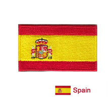 Spanish flag of the patch, the computer professional clothes embroidered patches of good quality