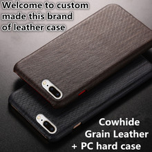 ND04 genuine leather hard case cover for Samsung Galaxy C5 leather cover for Samsung Galaxy C5000 phone case free shipping