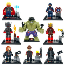 SY271 Avengers II Age Of Ultron Thor Hawkeye Hulk Ironman Building Blocks Sets Model Bricks Toys For Children
