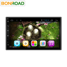 Bonroad 2L72 Ram 2G Quad Core 1024*600 Car Video PC Tablet 2din Universal For Nissan GPS Navi Radio Stereo Audio Player (No DVD)