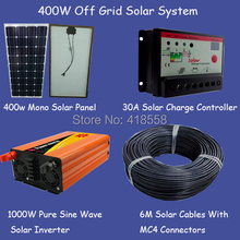 400w Solar Panel System/ Off grid system/stand Alone System/400w solar home power supply system(China)
