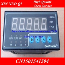 load cell Indicator instrument weighing digital display load cell display S weight sensor 2 way output 96x48x112(China)