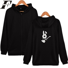 Russian Bi-2 Hood Sweatshirts tracksuit men women Zipper Hoodies Winter Mens Hoodies And Sweatshirts Hip Hop Rock Band Clothes(China)