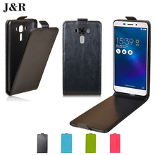 Vertical Leather Case For Asus Zenfone 3 Laser ZC551KL Cover Flip Luxury Cover For Asus ZC551KL Case Smart Phone Bags Protective