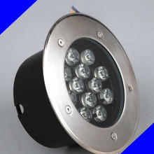 9W 12W LED underground light lamps outdoor buried recessed floor lamp Waterproof IP67 Landscape stair lighting 85-265V AC