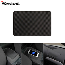 Vingtank Universal Slim Silicon Car Anti-slip Pad Phone Holder Non-slip Dashboard Mat 8*5 inch Car-styling Car Accessories(China)