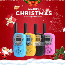 T388 Children Radio Toy Walkie Talkie Kids Radio UHF Two Way Radio T-388 Children's Walkie Talkie Pair For Boys and Girls Gift