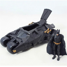 Batman Batmobile Tumbler Black Car Vehecle Toys Action Figure Dark Knight Collection Model Toy For Children Christmas Gift BN020