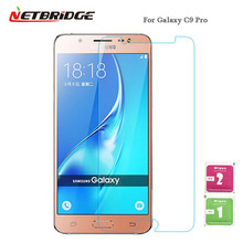 For Samsung Galaxy C9 Pro SM-C9000 Tempered Glass Not Full Screen Protector Glass Film Ultra-thin 2.5D 9H Hardness Phone Glass