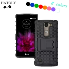 HATOLY For Cover LG Spirit Case Heavy Duty Hard Rubber Silicone Phone Case for LG Spirit Cover for LG Spirit H420 H422 H440N(China)
