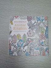24 pages English version Animal Kingdom coloring book   color colouring book