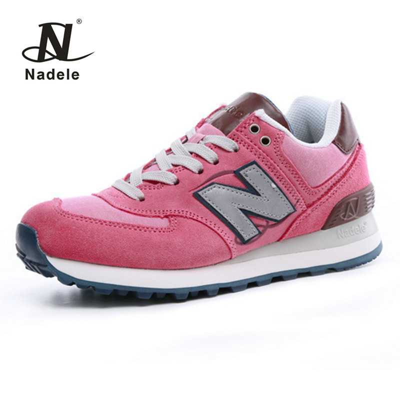 Nadele 2017 Running Shoes Womens Sneakers Breathable Outdoor  Athletic Comfortable Walking Shoes Training Jogging Shoes Brown<br>