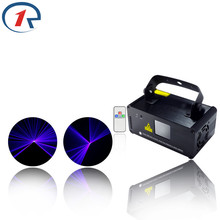 ZjRight IR Remote Laser light  8 CH DMX 150mW Blue Laser Scanner Effect Stage Lighting Disco Party Club Show Projector Lights