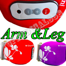 Lose Weight FD ACE  Electric Massage Belt Arm Thigh Calf Shake Vibrating Slimming body building 5 kinds of massaging procedures