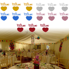 1500 Pcs Wedding Party Deco Crafts Cards Wedding Toppers Confetti Table Decoration Just Married + Heart Love Table Deco Card
