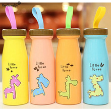 Keythemelife 1pcs Cartoon Water bottles Creative Stainless Steel Child Water bottles Personalized Portable bottles for Kid(China)