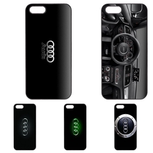 For Cool Audi Car Logo phone case for Huawei P8 Lite P9 Lite P9 Plus 3C Honor 6 7 8 5C Ascend P6 P7 Mate 7 8(China)