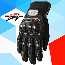 Motorcycle Bike Bicycle Full Finger Racing Gloves Protective Gear Pro-biker PRO knight Gloves Performance Racing Accessories(China)