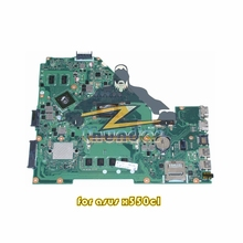 60NB03W0 for ASUS X550CL laptop motherboard REV 2.0 SR109 Celeron 1007U CPU onboard nvidia GT710M ddr3