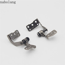 Nabolang 1 Pair (Left & Right ) LCD Hinges For Asus Eee PC 1225 1225E 1225C 1225B laptop hinges(China)
