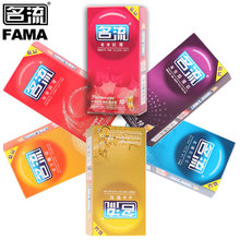Buy 60 pcs Condoms Men Penis Sleeve 6 kinds ultra thin particle thread Natural latex spike Condom Safer Sex Toys Contraception