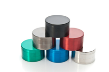 1PC 75MM Big Large Metal Zinc Alloy Herb Grinder 6 Colors 4 Layers Hand Muller Smoking Crusher Pollen Pipe Tobacco Grinder