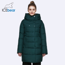 ICEbear 2017 Hot Sale Winter Womens Bio Down Thickening Jacket And Coat For Women High Quality Parka Five Colors 16G6128D(China)