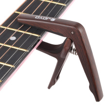 JOYO JCP-01 Light Guitar Capo Quick Change Clamp Key Plastic Steel with Pick for 6-String Acoustic Electric Guitar