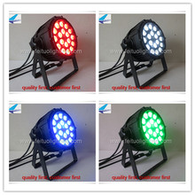 4 pieces 18x10w 4in1 dmx led par can waterproof led stage par64 light