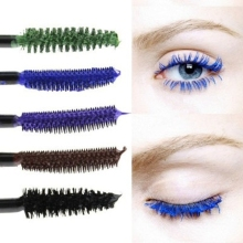 1 PCS 2016 Newest Waterproof Blue Purple Black Brown Mascara Long Fiber Curl Eyelash Extension Tools