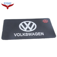 KUNBABY Car-styling 2017 Glue Mat Interior Accessories Case For VOLKSWAGEN VW Polo Golf Python Pattern Jetta Touareg Car Styling