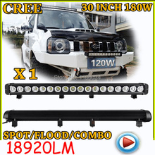 Free UPS ship!1pcs/set,30inch 180W 18920LM,10~30V,6500K,LED working bar,Boat,Bridge,Truck,SUV Offroad car,black!20W 40W 80W