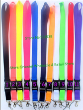 Custom Wholesale Key Chain Lanyard Straps Neck Logo Keychain ID holder Mobile Phone Accessories